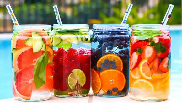 Fruit Infused Waters from Green Blender Overweight & Angry from MSG